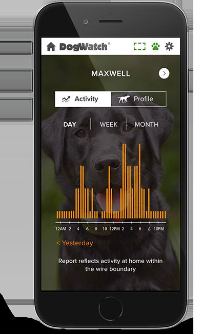 DogWatch podjetja K9 Keeper Fencing LLC, Hastings, Michigan |  Slika SmartFence WebApp